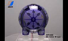 チューブポンプ WP1000 DCモータ Mタイプ