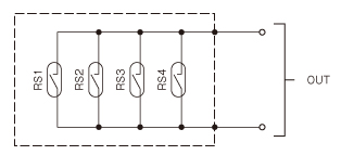 R 回転出力付 回路図