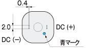 WPM DCブラシモータ モータ結線図