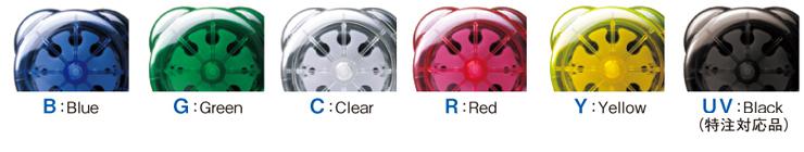 WPX1(チューブポンプ)製品紹介 5色をラインナップ