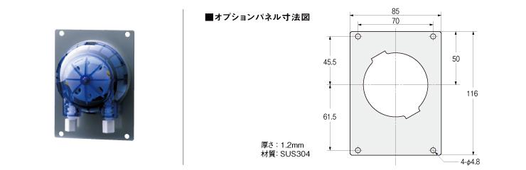 WP1000/1100 パネルオプション